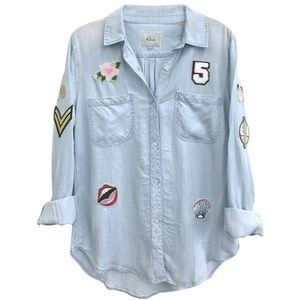RAILS Carter Patches Button Down Shirt